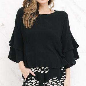 Ava Sky Top Jenni in black